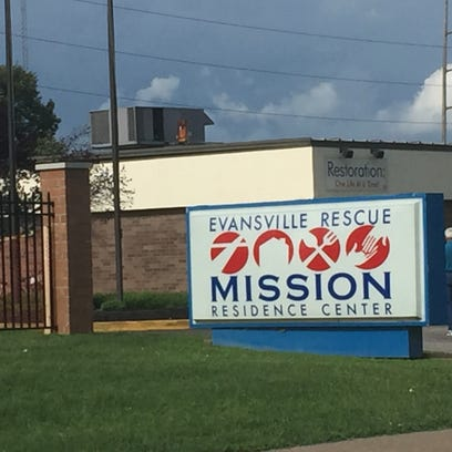 The Evansville Rescue Mission on Walnut Street is one