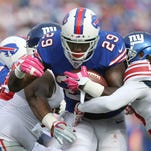 Bills running back Karlos Williams is going through the NFL's concussion protocol after sustaining a concussion Sunday.