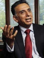 Rowan University President Ali Houshmand