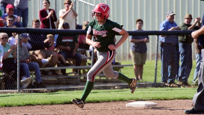 Oak Harbor senior Ashley Riley is the News-Messenger's player of the year for softball.