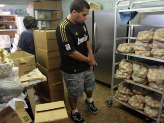 Break ins strain nonprofit coachella food bank for Fish food bank