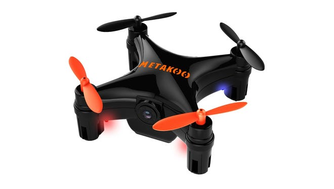 The Metakoo Bee Pro Mini is a micro drone with a built-in camera that easily fits in your palm.
