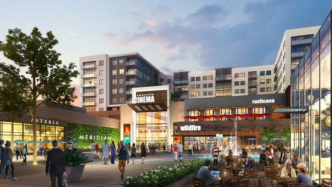 A $45 million redevelopment project could reshape the Asheville Mall into a mixed-use facility that has housing, a movie theater in addition to more stores and restaurants.