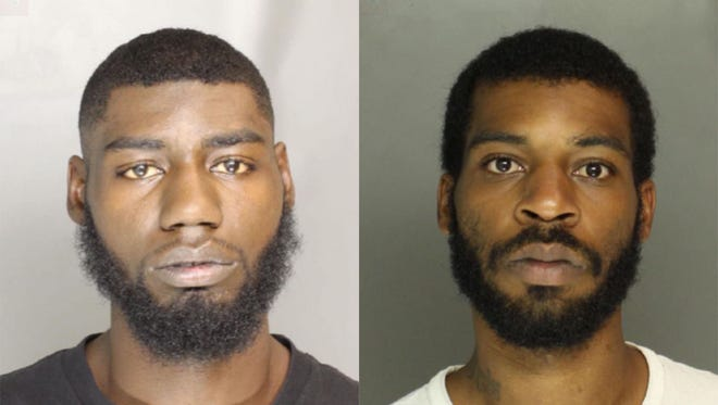 Danzell Davonte Tindall (left) and Richard Lee III Carter (right).