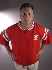 Beechwood High School's head football coach Mike Yeagle