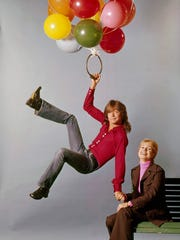 Shirley Jones plays (Shirley) the mother in 'The Partridge Family,' David Cassidy plays her oldest son, (Keith.)