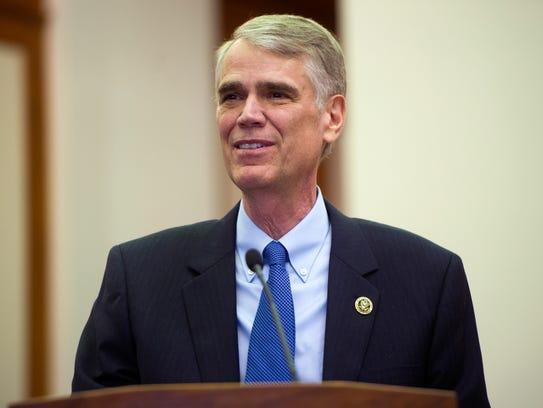 Chief United States District Judge Thomas Varlan speaks