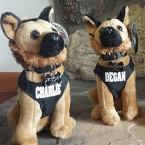 K9 help, big and small: Toy K9s raise money for Franklin's valued police dogs