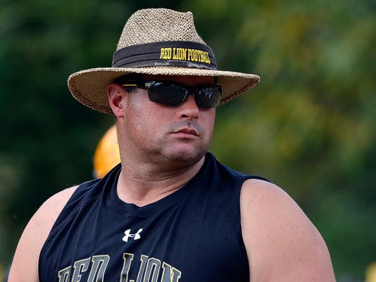 Red Lion head coach Jesse Shay will lead his team against West York on Friday night in battle of York County programs.
