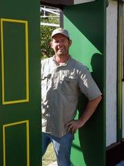 Tony Davoren, co-director of the Celtic Bayou Festival,