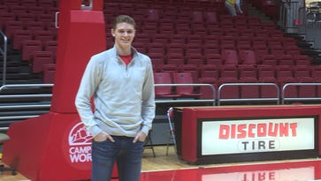 Blake Huggins, a 2017 recruit, committed to Ball State on Thursday.