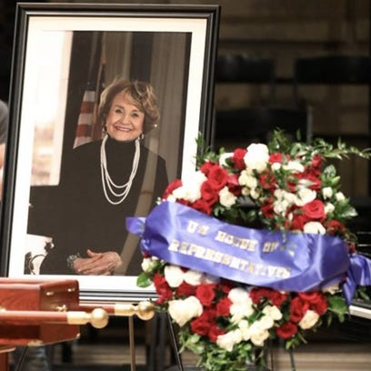Louise Slaughter's funeral.