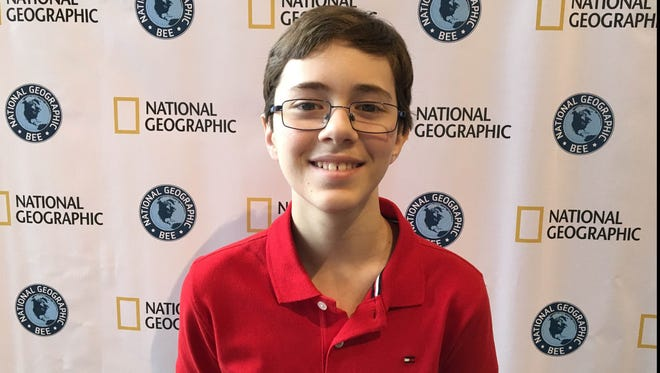 South Lyon Millennium Middle School student Nicholas Simovski, 11, recently competed in the state Geography Been competition.