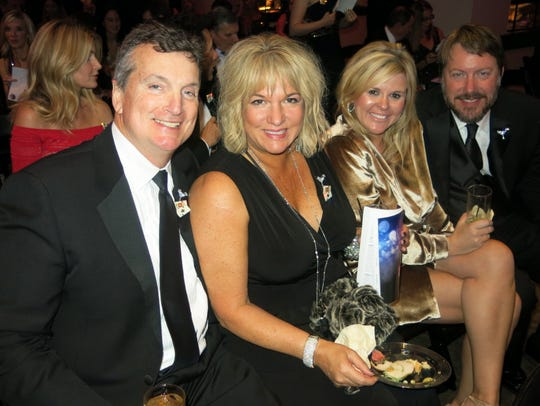 Cliff and Donna Poimboeuf and Serenity and Allen Evans