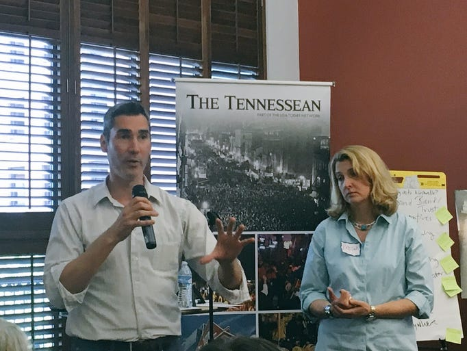The Tennessean held a book discussion of Richard Florida's