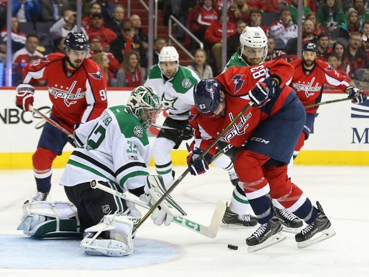 USP NHL: DALLAS STARS AT WASHINGTON CAPITALS S HKN WSH DAL USA DC