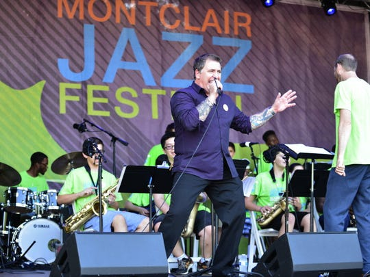 Montclair, Essex, NJ 08/13/2016 Louis Prima Jr. and