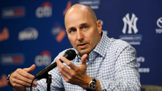 New York Yankees general manager Brian Cashman said