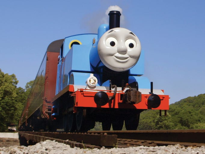 Kennywood welcomes Thomas the Tank Engine