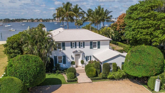 Designated a town landmark, a five-bedroom house built in the mid-1930s has sold for a recorded $10.5 million. {Photo courtesy Premier Estate Properties]