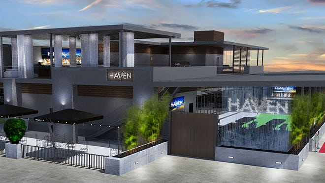 HaVen broke ground on March 16 and projects to open in a year.