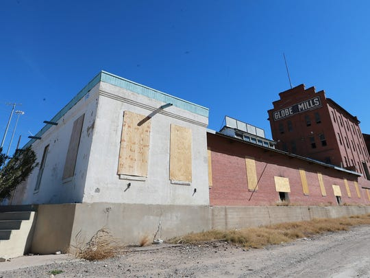 The old Globe Mills structure will soon be razed.