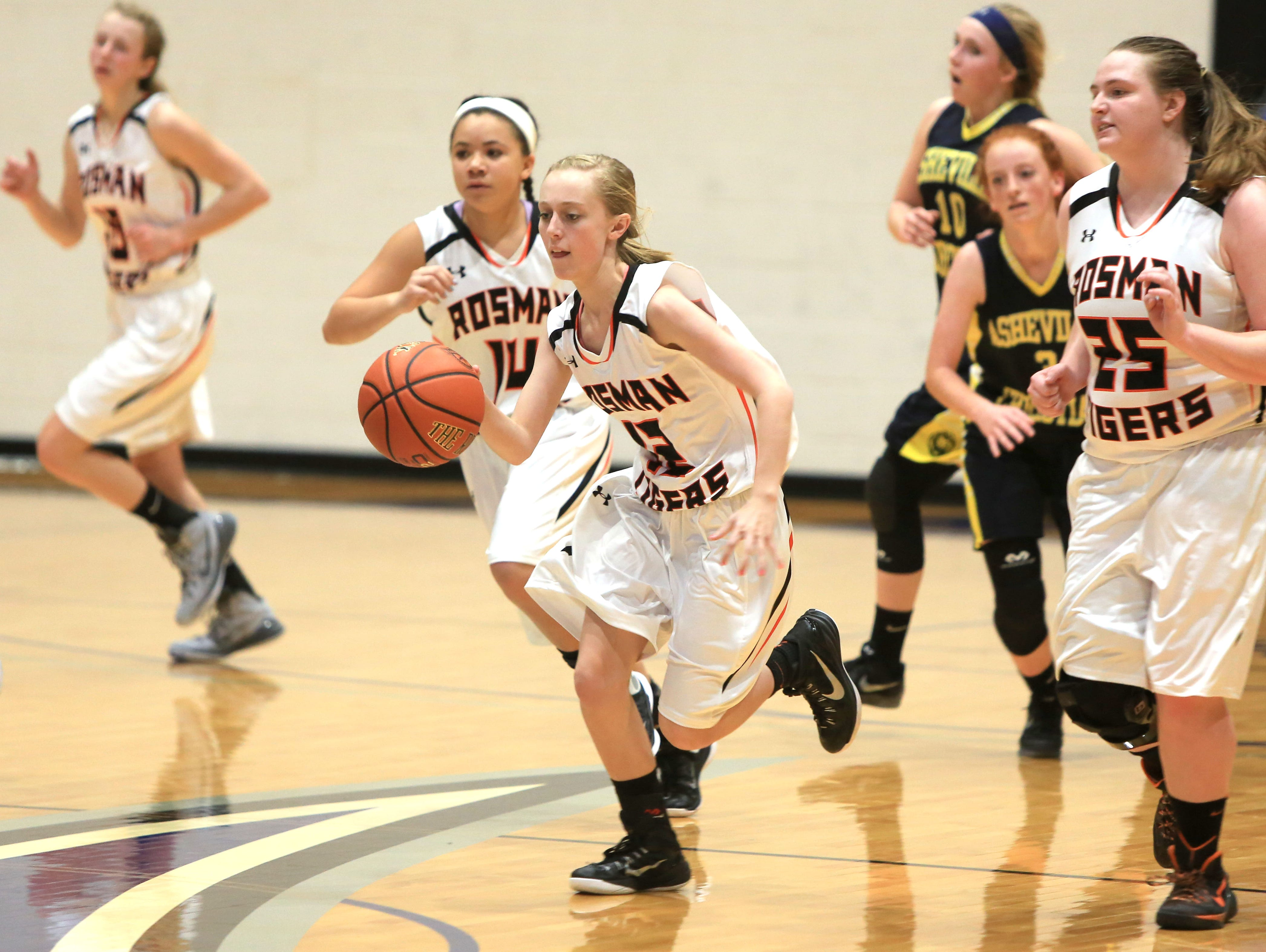 The Rosman girls basketball team is in Wednesday's championship finals of the Wells Fargo WNC Holiday Classic at UNC Asheville.