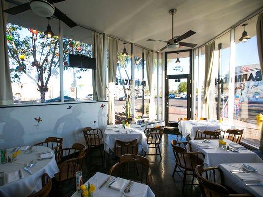 Dining room at Barrio Cafe Gran Reserva