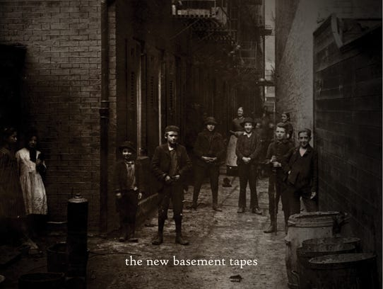 'Lost on the River: The New Basement Tapes' cover