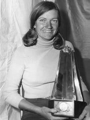 Jane Blalock won the inaugural Colgate-Dinah Shore Winners Circle LPGA tournament at Mission Hills Country Club in 1972.