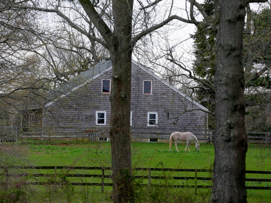 Exteriors of Hockhockson Farm, a historic farm which Jon Stewart wants to convert into an animal sanctuary, in Colts Neck, NJ Monday, April 4, 2016.