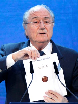 Sepp Blatter and FIFA are under fire for the handling of their investigation into the 2018 and 2022 World Cup bidding.