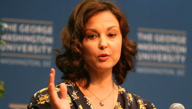 Actress Ashley Judd speaks about women's health at George Washington University in Washington on Friday, March 1, 2013. (Jeff Franko, USA TODAY)