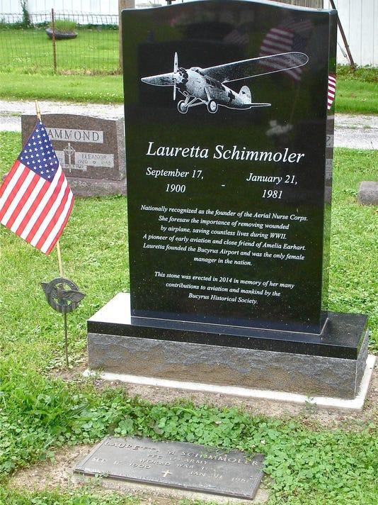 Lauretta Schimmoler Tombstone.jpg