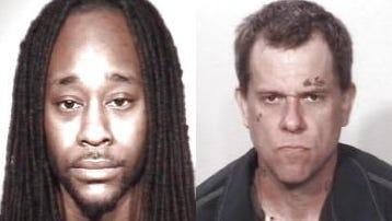 Urshawn Miller, left, Joseph Patterson