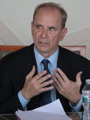 Michael Harrington urges greater emphasis on public