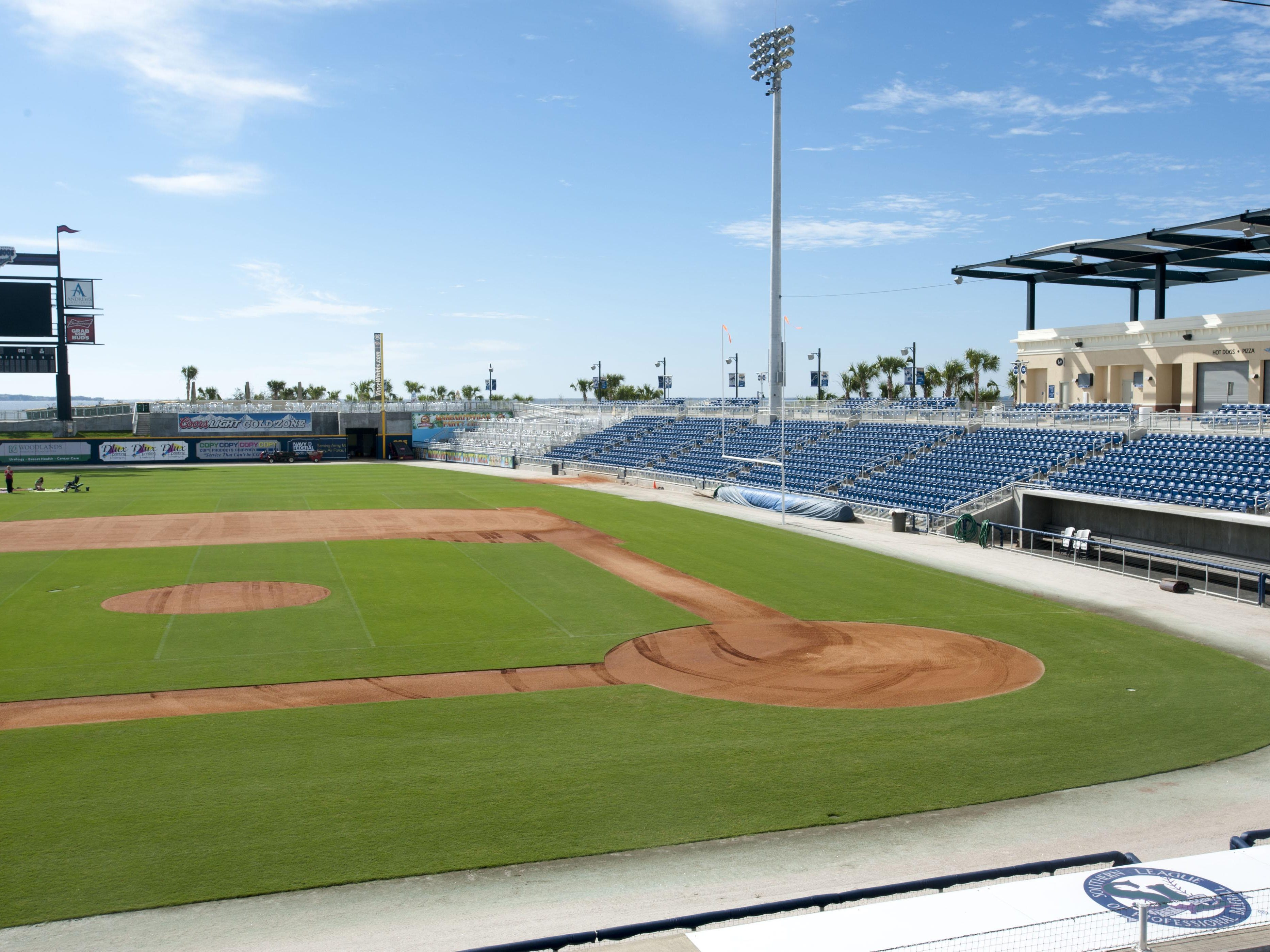 The Blue Wahoos Stadium received its latest honor when StadiumJourney.com ranked the ballpark No. 2 among the 160 minor league baseball stadiums in America.