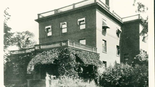 The stately four-floor (counting the basement) mansion in Monticello that served as the summer home for Twin Cities streetcar magnate Thomas Lowry.
