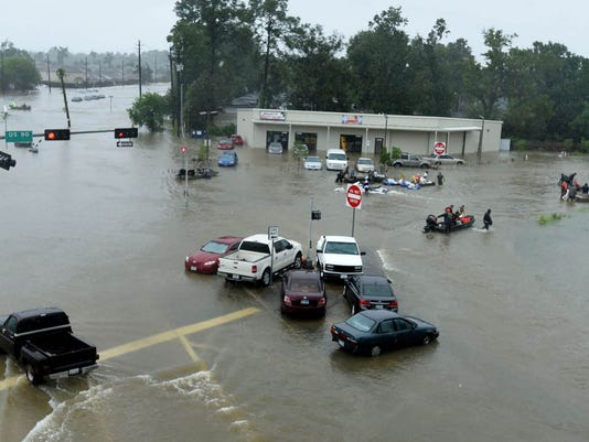 USP NEWS: HURRICANE HARVEY USA TX