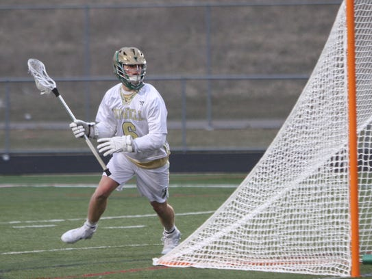 Howell's Jack Radzville had nine goals and two assists