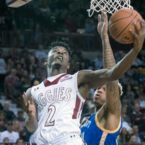 New Mexico State cruises past UMKC, wins 16th straight