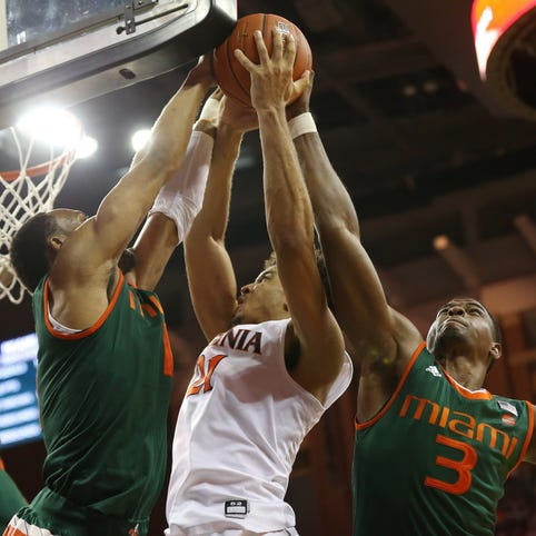 USA TODAY Sports Bracketology: Virginia tumbling in wrong direction for March