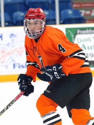 Declan Carlile of Hartland was recently drafted by teams in the Ontario Hockey League and United States Hockey League.
