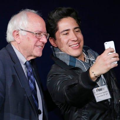 Sen. Bernie Sanders, a Vermont independent who's seeking