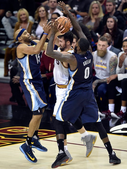 NBA: Memphis Grizzlies at Cleveland Cavaliers