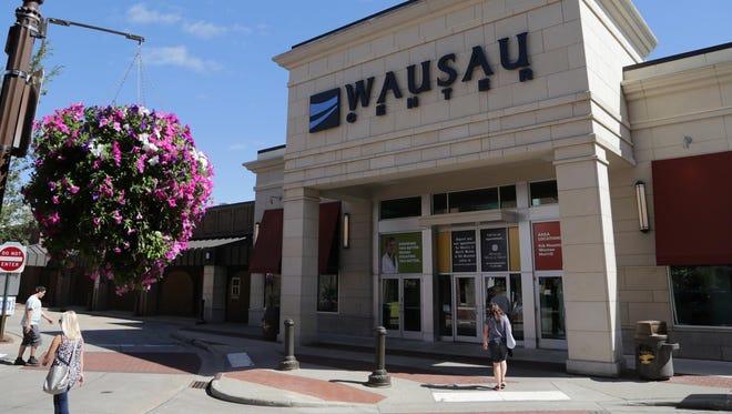Wausau Center mall.