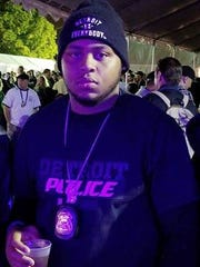 Detroit Police officer James Hearn. Hearn died in a