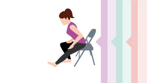 Exercise and stretches focused on your hip area – hip