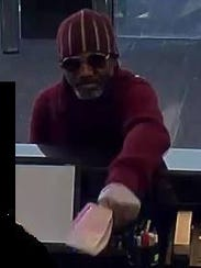 Police say this man robbed a TD Bank branch in Delran