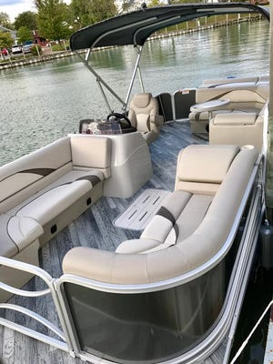 Pontoon boats will be available to rent in Port Huron beginning in April.